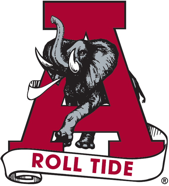 Alabama Crimson Tide 1974-2000 Alternate Logo iron on transfers for clothing