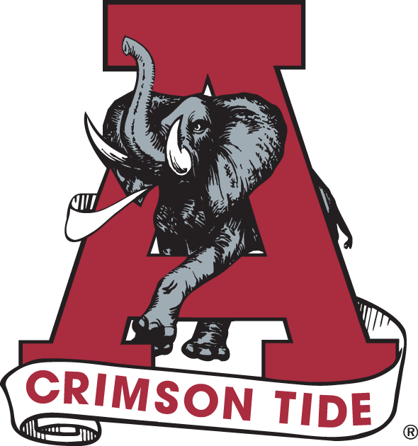 Alabama Crimson Tide 1974-2000 Primary Logo iron on transfers for clothing