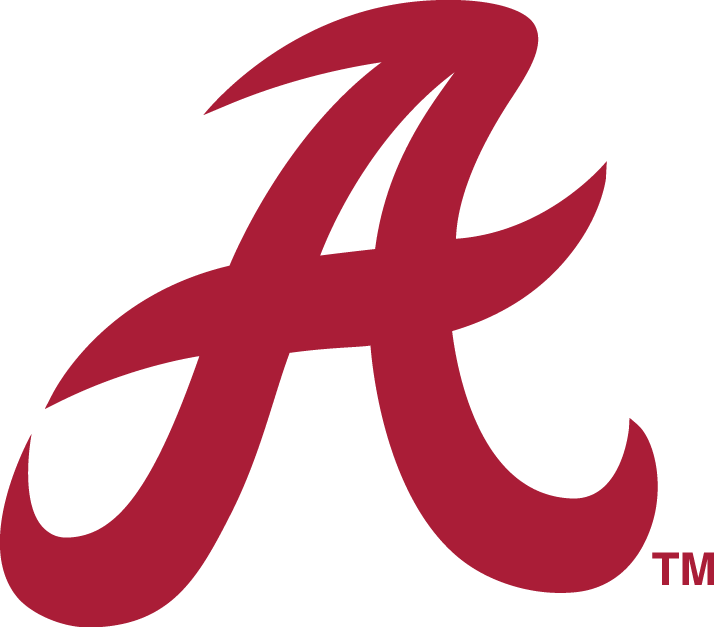 Alabama Crimson Tide 1976-2000 Secondary Logo iron on transfers for clothing