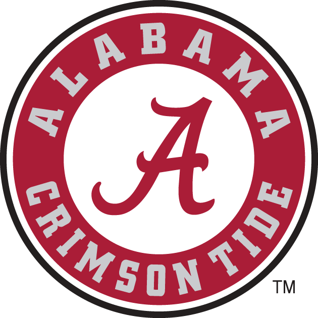 Alabama Crimson Tide 2001-2003 Secondary Logo iron on transfers for clothing