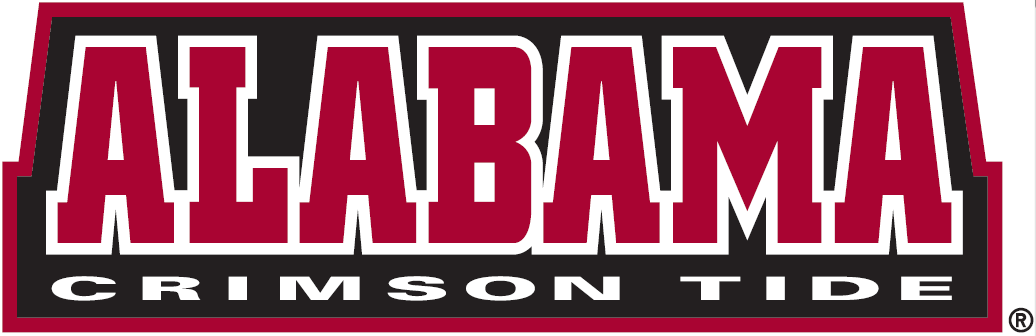 Alabama Crimson Tide 2001-Pres Wordmark Logo v2 iron on transfers for clothing