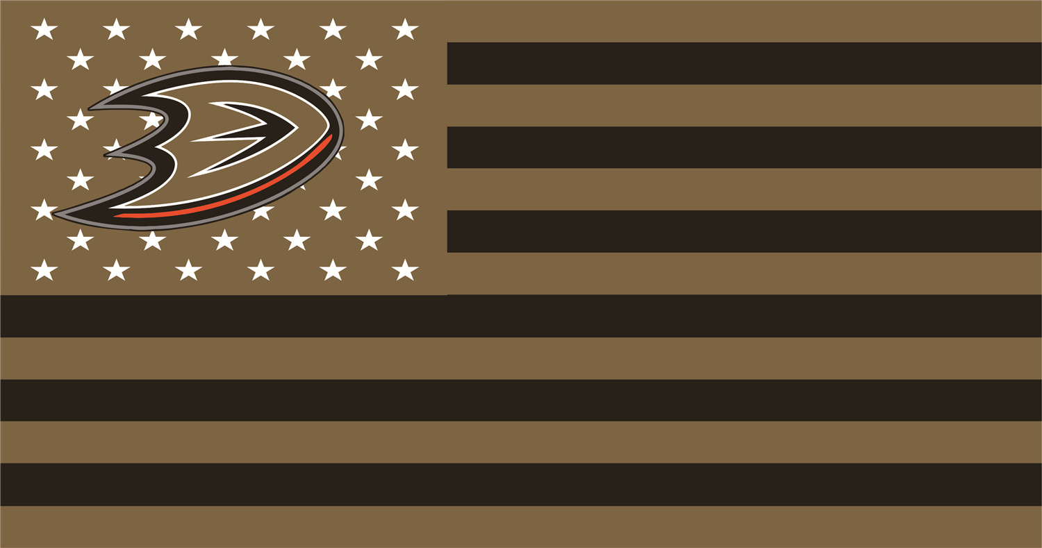NHL USA Flags iron ons