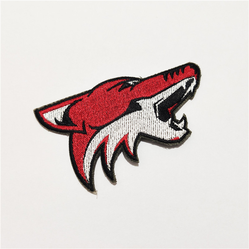 Arizona Coyotes Logo Iron-on Patch Velcro Patch 3.5 inches