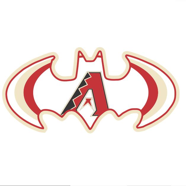 MLB Batman iron ons