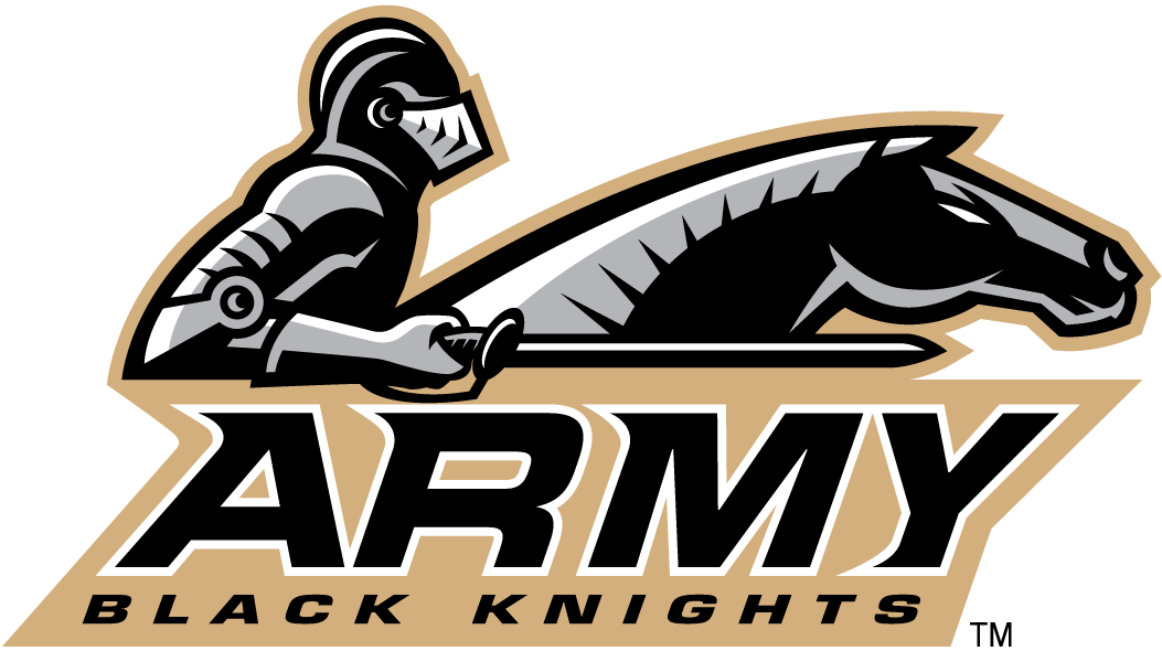 Army Black Knights 2000-2005 Primary Logo iron on transfers for clothing
