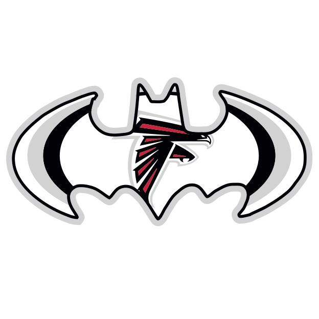 Atlanta Falcons Batman Logo iron on transfers
