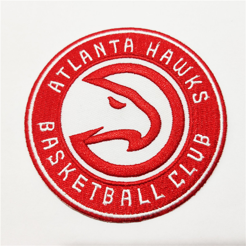 Atlanta Hawks Logo Iron-on Patch Velcro Patch 3.5 inches