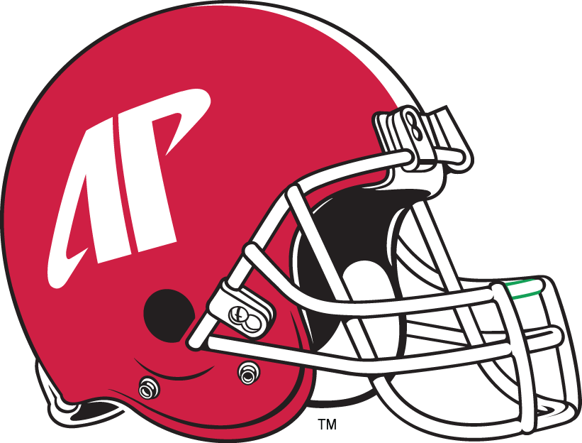Austin Peay Governors 1992-Pres Helmet Logo iron on transfers for clothing