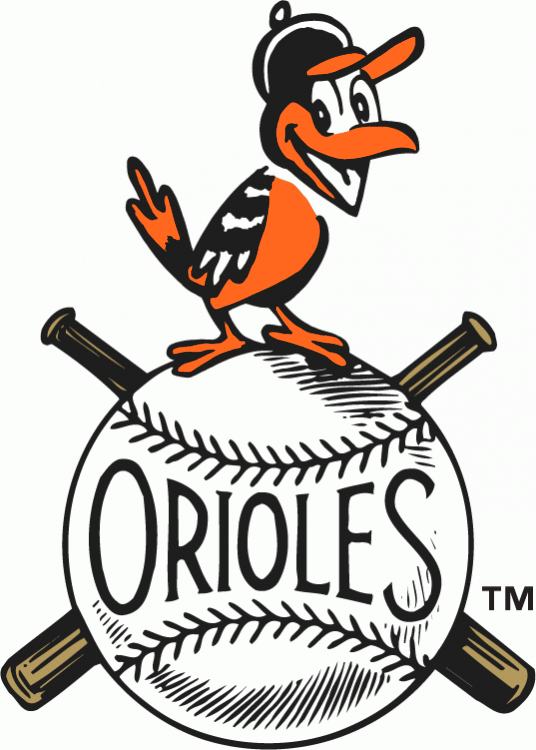 Baltimore Orioles 1954-1965 Primary Logo iron on transfers for clothing