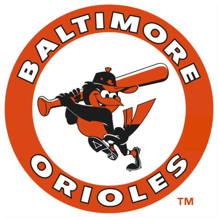 Baltimore Orioles 1966-1988 Primary Logo iron on transfers for clothing