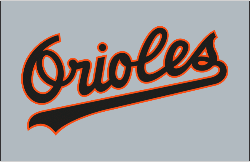 Baltimore Orioles 1989-1994 Jersey Logo iron on transfers for clothing version 2