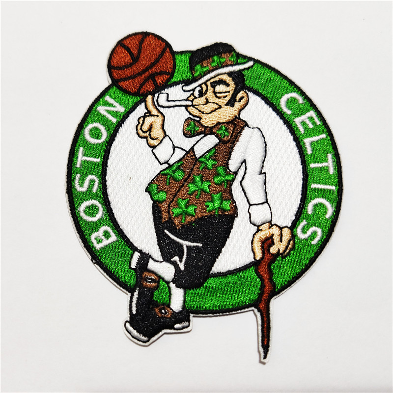 Boston Celtics Logo Iron-on Patch Velcro Patch 3.5 inches