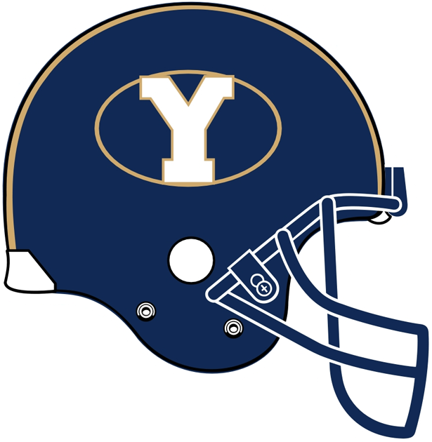 Brigham Young Cougars 1999-2004 Helmet Logo iron on transfers for clothing