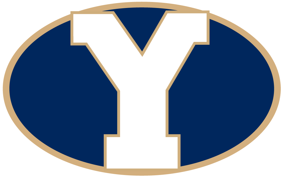 Brigham Young Cougars 1999-2004 Secondary Logo v3 iron on transfers for clothing