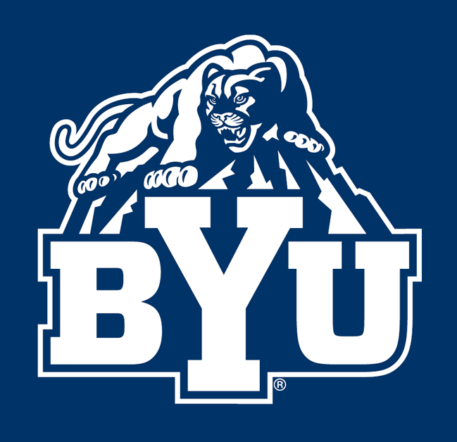 Brigham Young Cougars 2005-Pres Alternate Logo v2 iron on transfers for clothing