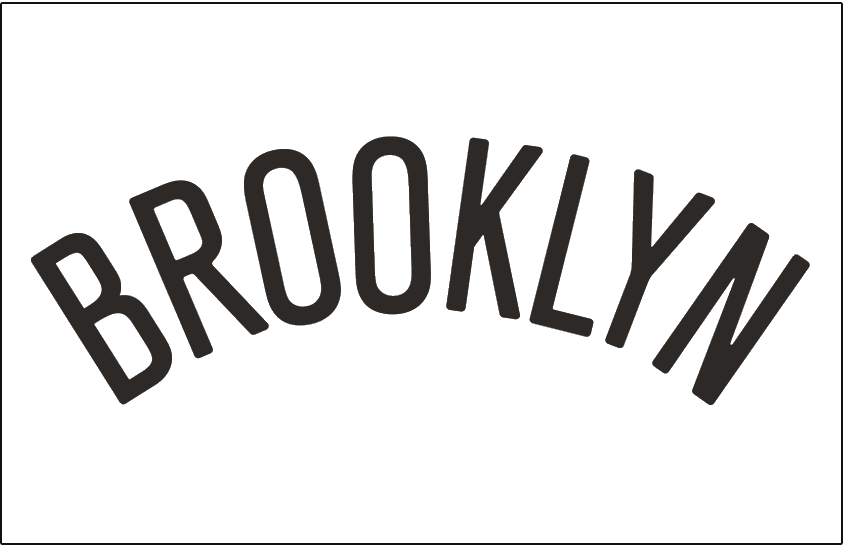 Brooklyn Nets 2012-Pres Jersey Logo iron on transfers for clothing version 2