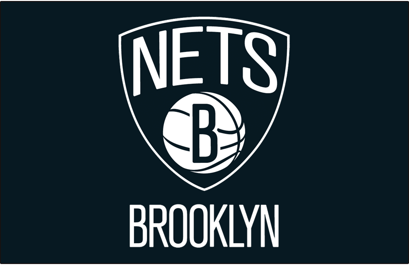 Brooklyn Nets 2012-Pres Primary Dark Logo iron on transfers for clothing