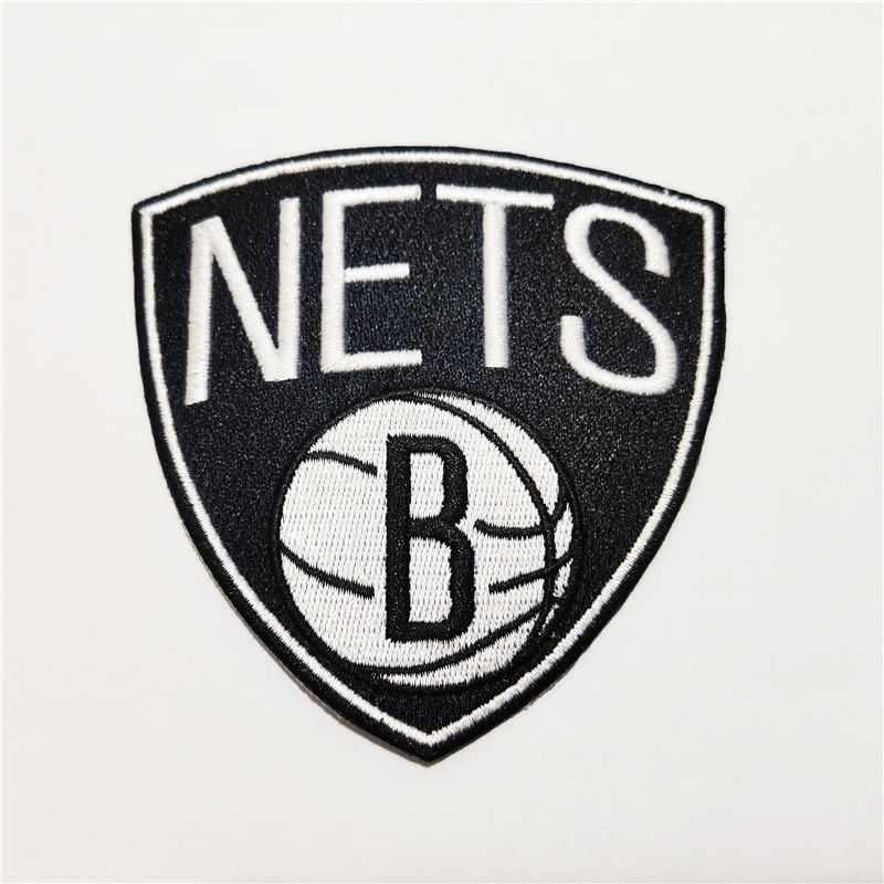 Brooklyn Nets Logo Iron-on Patch Velcro Patch 3.5 inches