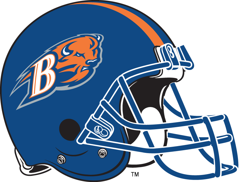 Bucknell Bison 2002-Pres Helmet Logo iron on transfers for clothing