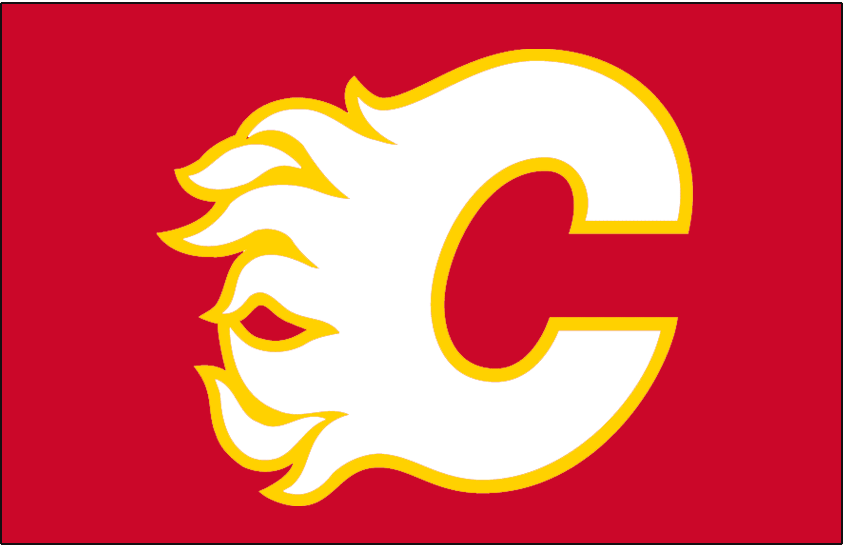 Calgary Flames 2018-Pres Jersey Logo iron on transfers for clothing
