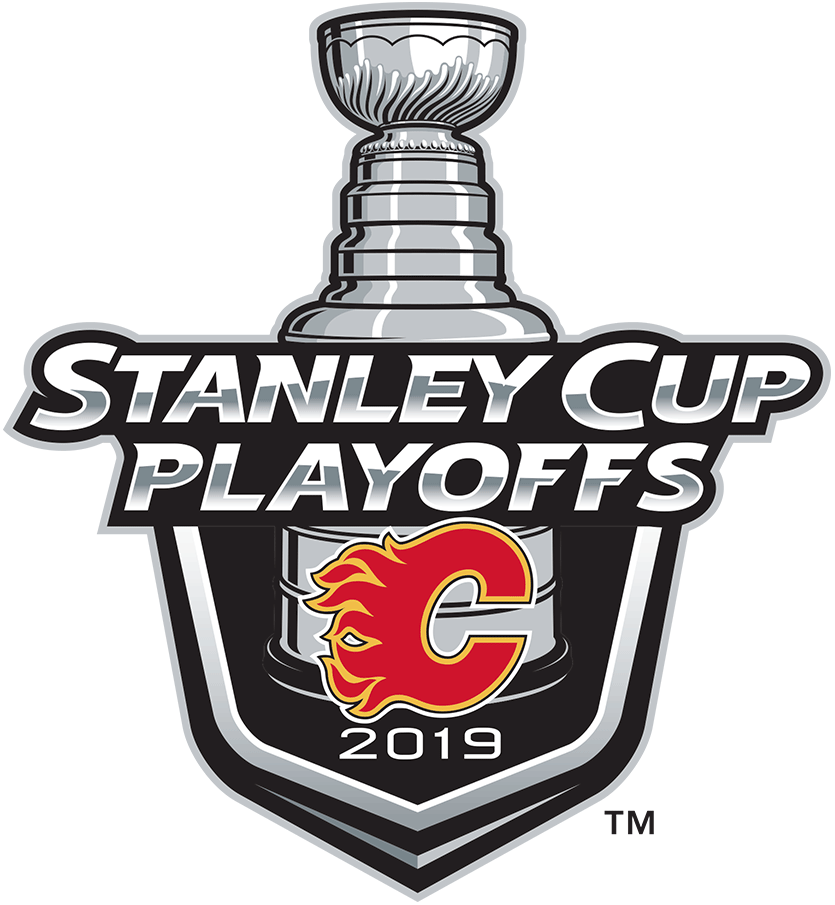 Calgary Flames 2019 Event Logo iron on transfers for clothing