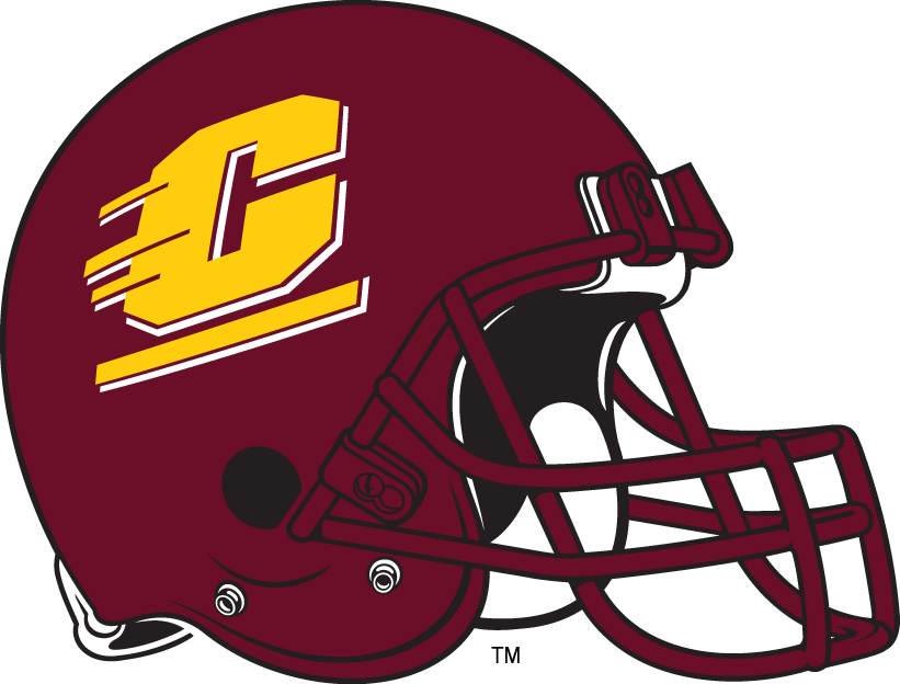 Central Michigan Chippewas 1997-Pres Helmet Logo iron on transfers for clothing