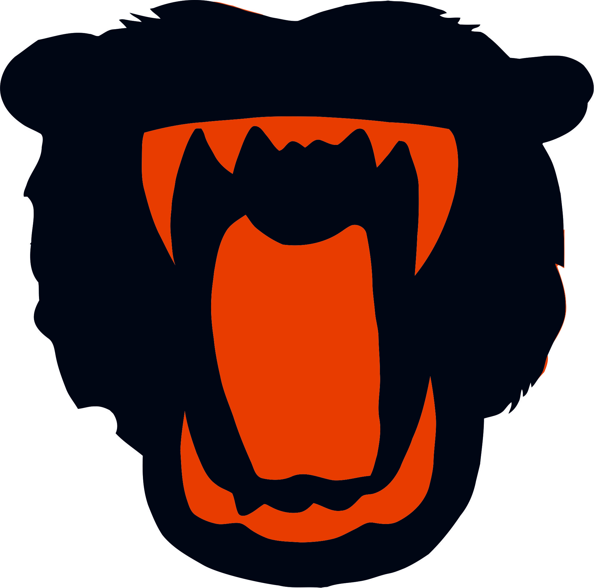 Chicago Bears Halloween Logo iron on transfers