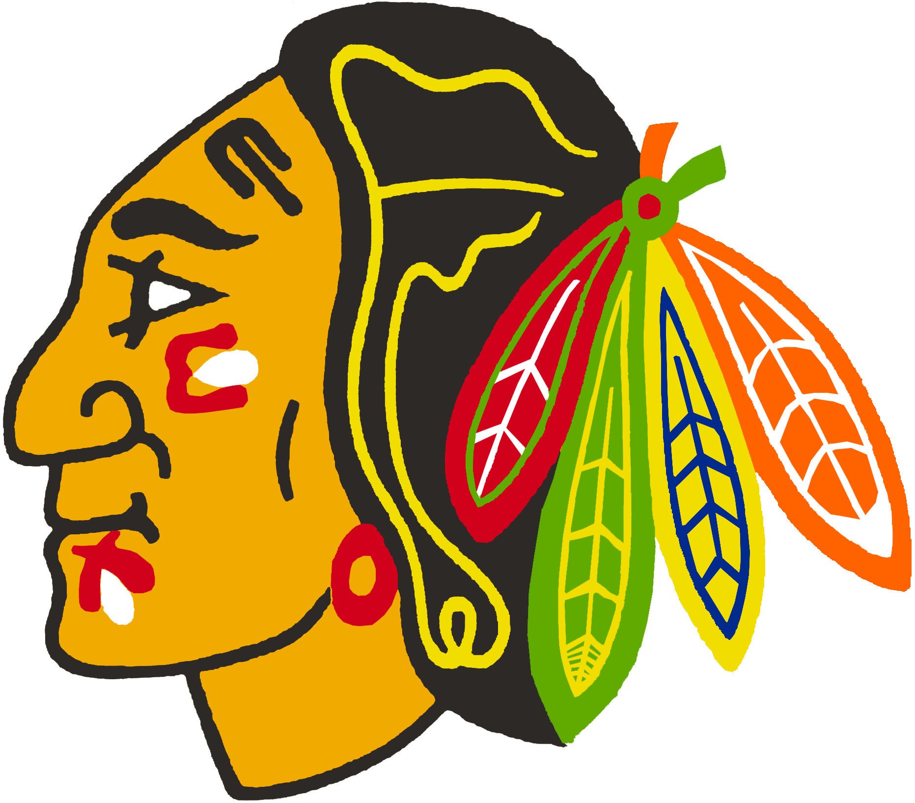 Chicago Blackhawks 1986-1989 Primary Logo iron on transfers for clothing