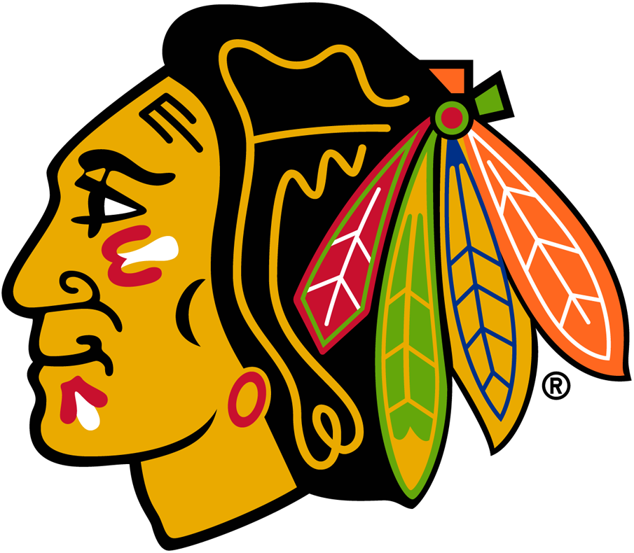 Chicago Blackhawks 1989-1996 Primary Logo iron on transfers for clothing