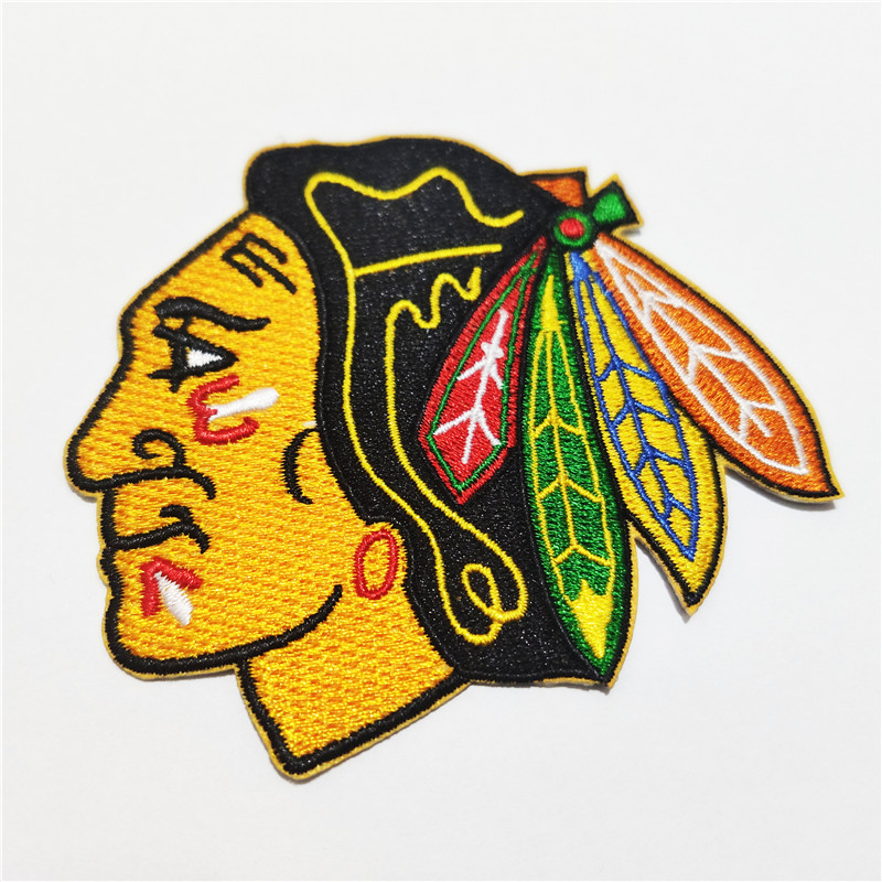 Chicago Blackhawks Logo Iron-on Patch Velcro Patch 3.5 inches