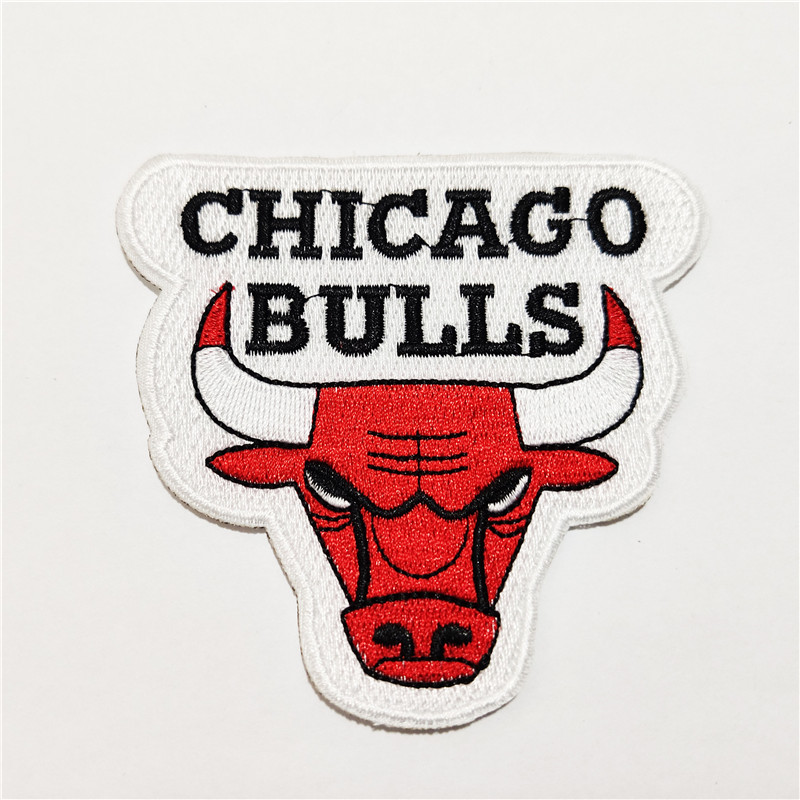Chicago Bulls Logo Iron-on Patch Velcro Patch 3.5 inches