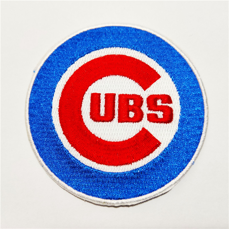 Chicago Cubs Logo Iron-on Patch Velcro Patch 3.5 inches