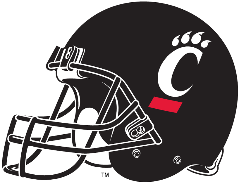 Cincinnati Bearcats 2006-Pres Helmet Logo iron on transfers for clothing