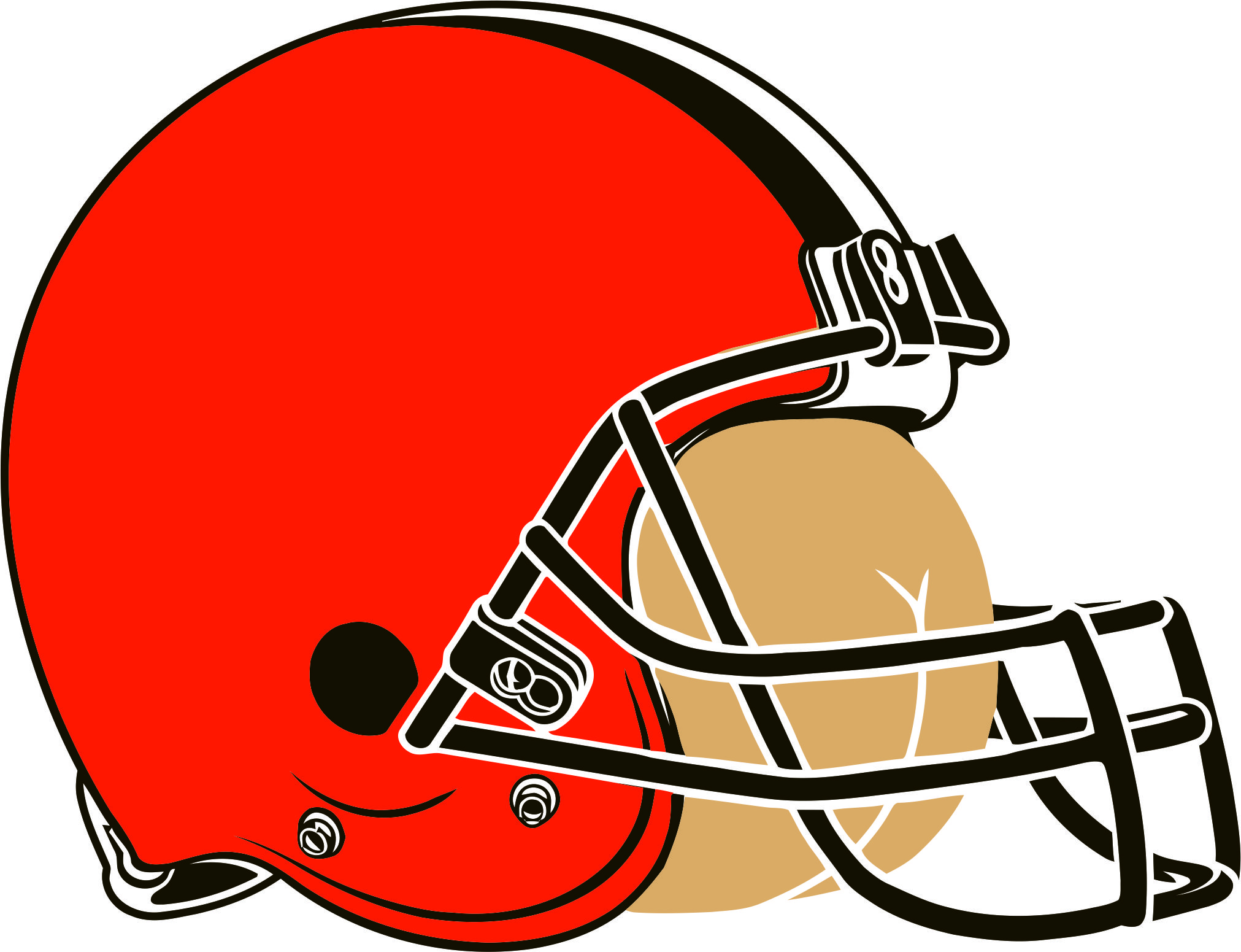 Cleveland Browns Butts Logo iron on transfers