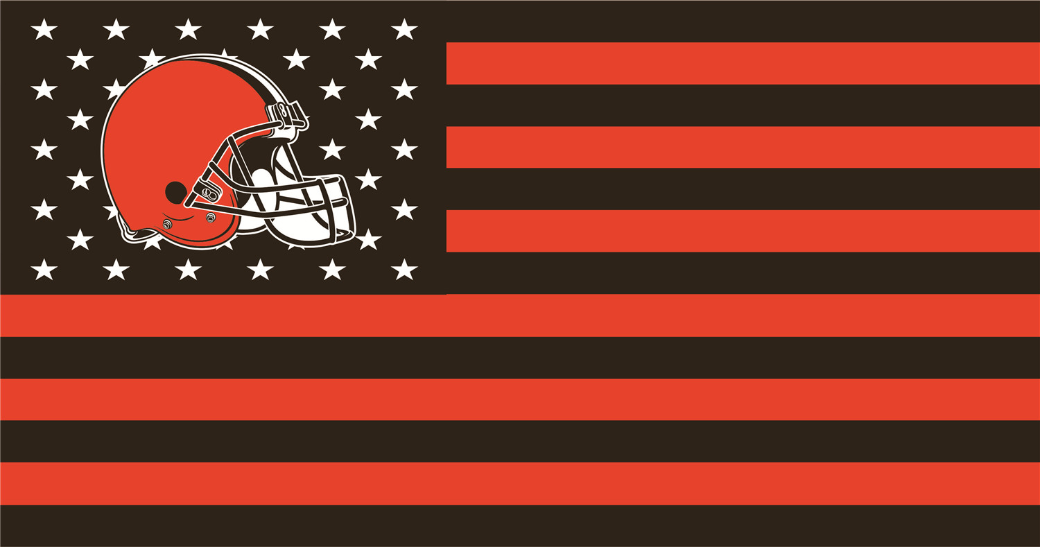 Cleveland Browns Flags iron on transfers