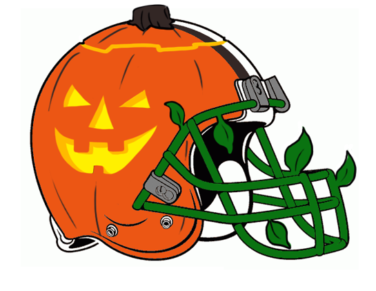 Cleveland Browns Halloween Logo iron on transfers