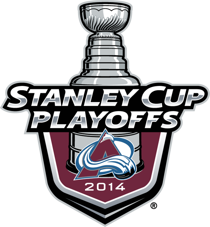 Colorado Avalanche 2014 Event Logo iron on transfers for clothing