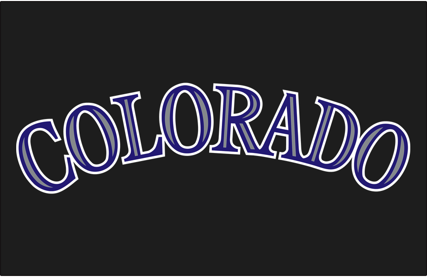 Colorado Rockies 2005-2016 Jersey Logo iron on transfers for clothing