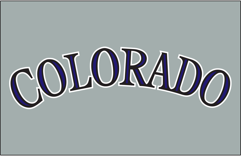 Colorado Rockies 2012-2016 Jersey Logo iron on transfers for clothing