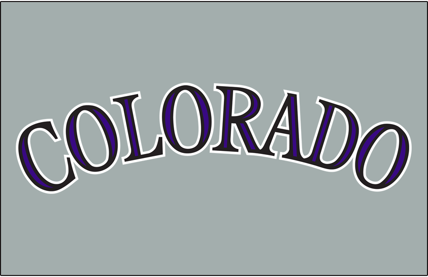 Colorado Rockies 2017-Pres Jersey Logo iron on transfers for clothing version 2