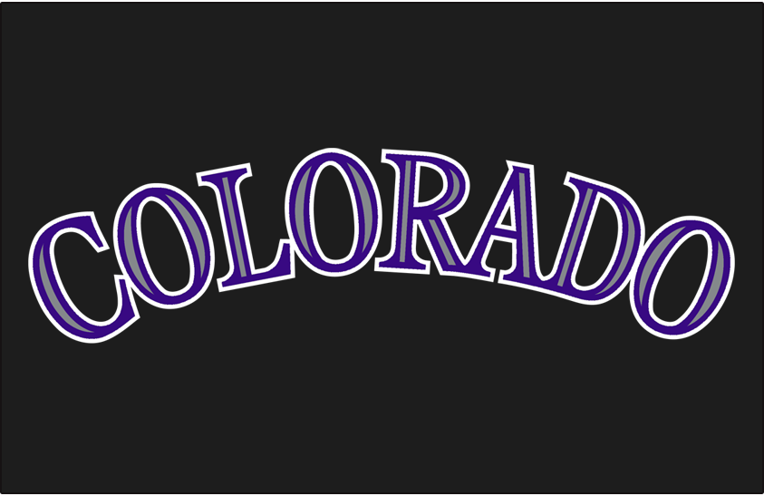 Colorado Rockies 2017-Pres Jersey Logo iron on transfers for clothing