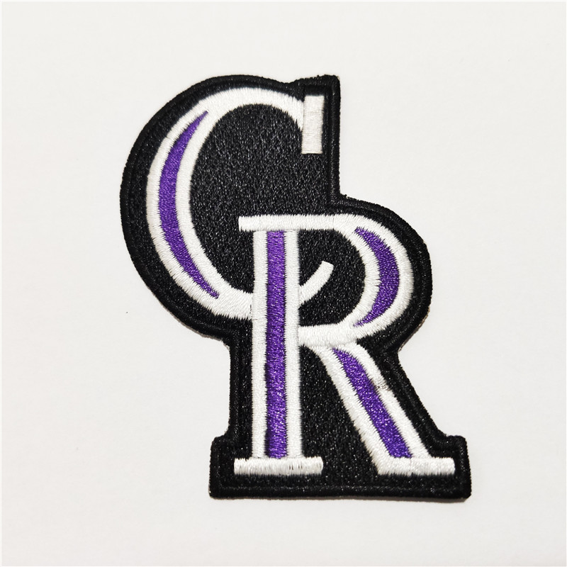 Colorado Rockies Logo Iron-on Patch Velcro Patch 3 inches