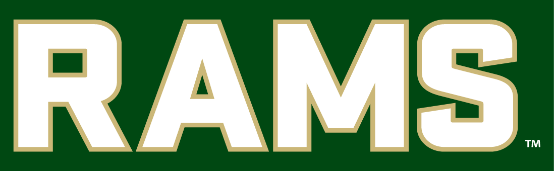 Colorado State Rams 2015-Pres Wordmark Logo v9 iron on transfers for clothing