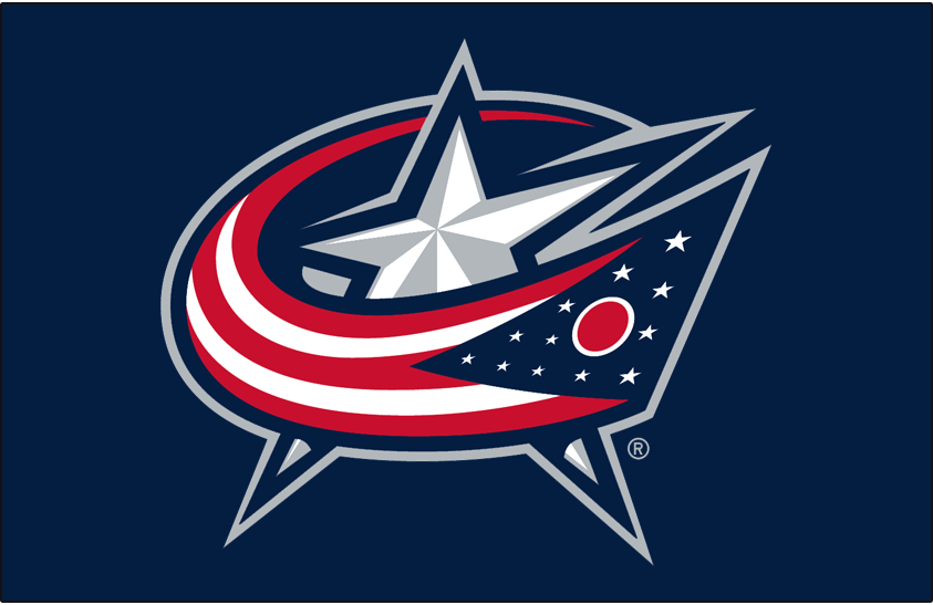 Columbus Blue Jackets 2007-Pres Primary Dark Logo iron on transfers for clothing