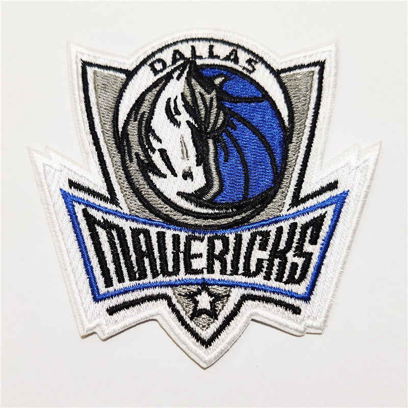 Dallas Mavericks Logo Iron-on Patch Velcro Patch 3.5 inches