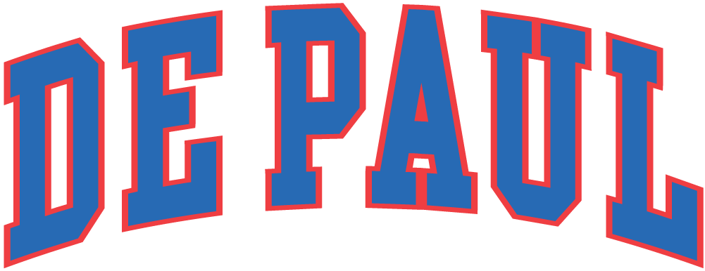 DePaul Blue Demons 0-1998 Wordmark Logo iron on transfers for clothing