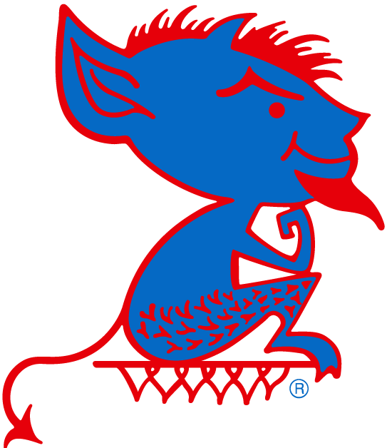 DePaul Blue Demons 1979-1998 Alternate Logo iron on transfers for clothing