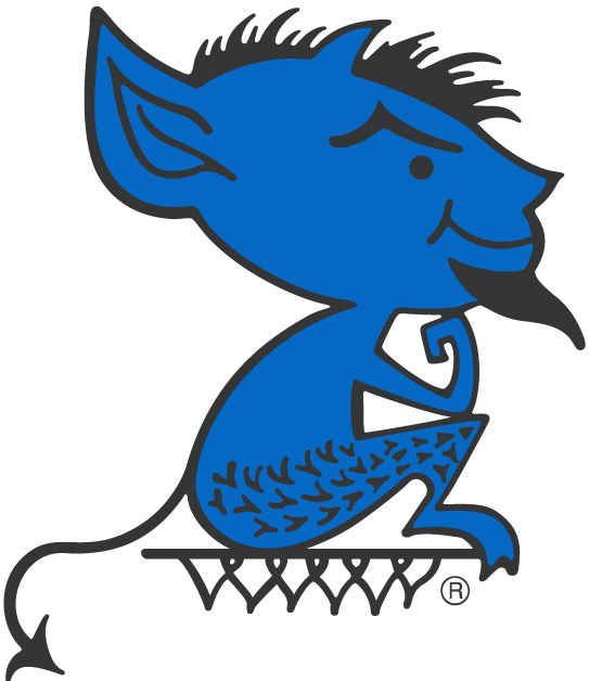 DePaul Blue Demons 1979-1998 Primary Logo iron on transfers for clothing