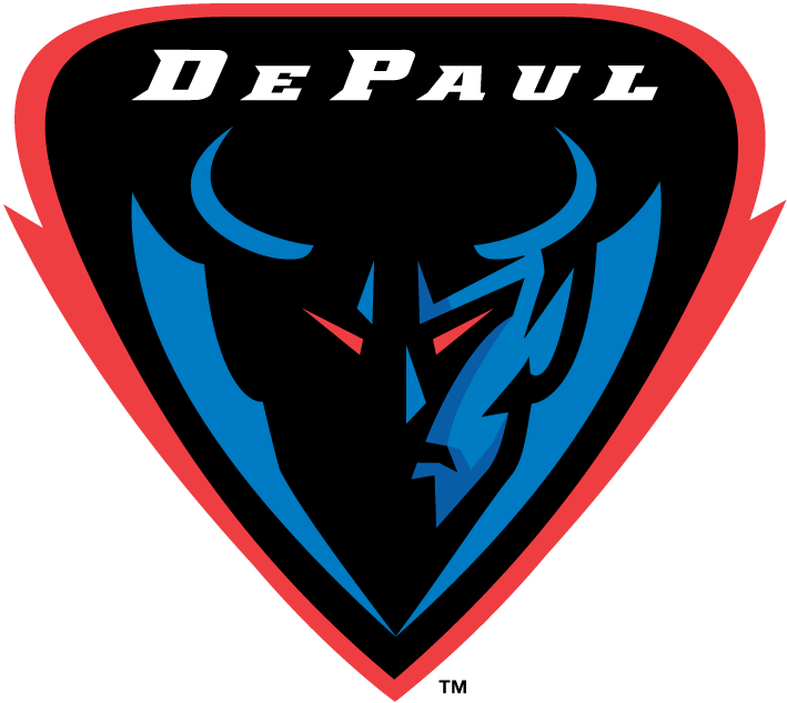 DePaul Blue Demons 1999-Pres Alternate Logo iron on transfers for clothing