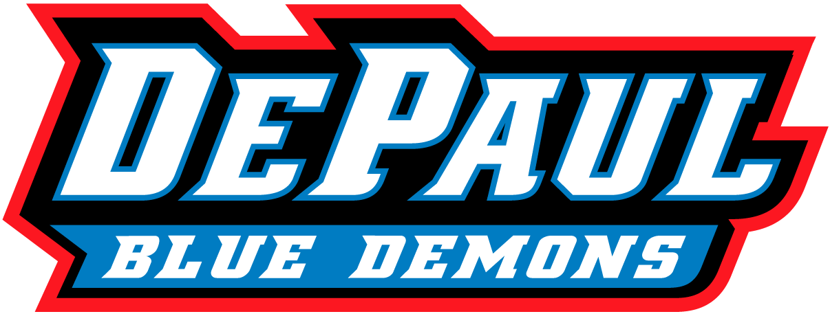 DePaul Blue Demons 1999-Pres Wordmark Logo v2 iron on transfers for clothing